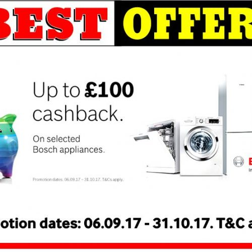 Bosch Cash Back Sept 17